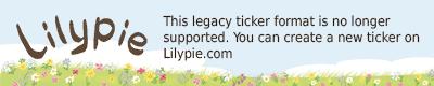Lilypie Ciclo de 21-37 días Ticker